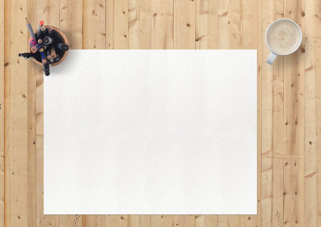 Escribir en un folio en blanco todo lo que nos hace felices